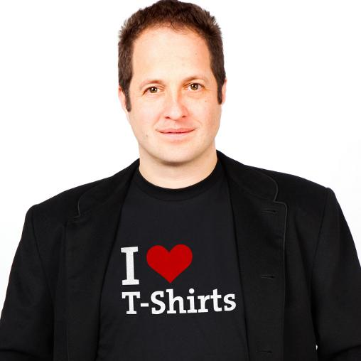 Philip Rooke, CEO of Spreadshirt