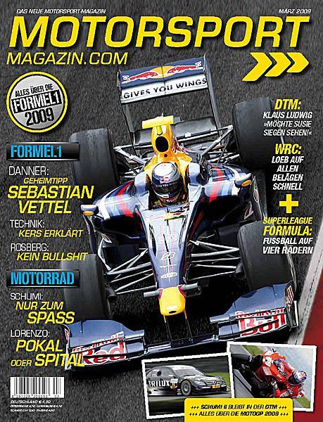 New motorsport magazine goes on sale!