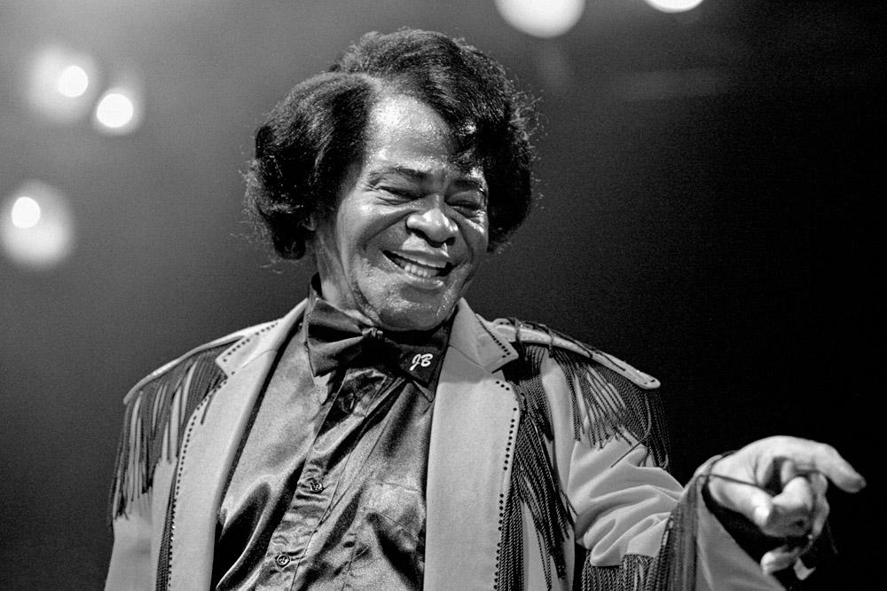 James Brown at the House of Blues by Skip Bolen