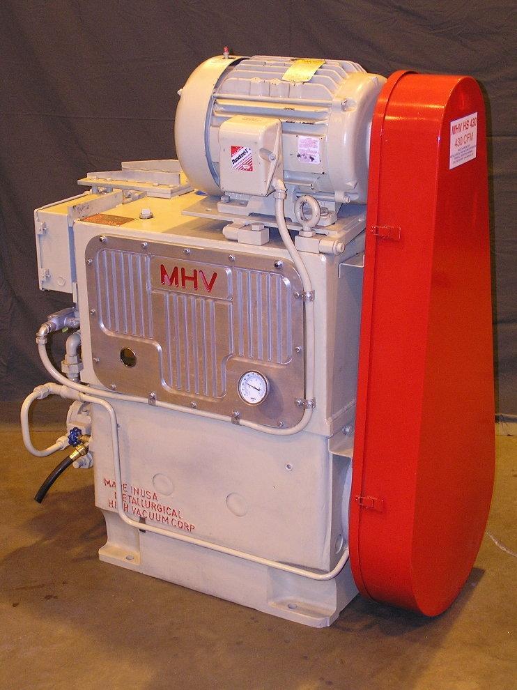 Metallurgial High Vacuum Pumps Provide 430 CFM performace from 300 CFM footprint.