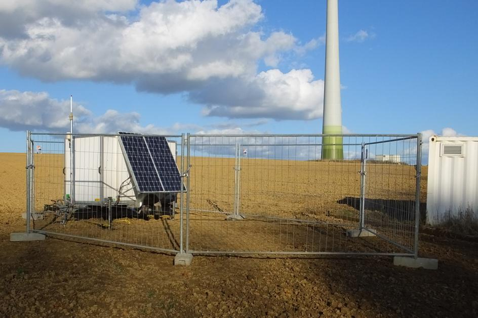 LiDAR wind measurement site (Copyright: BBB Umwelttechnik GmbH)