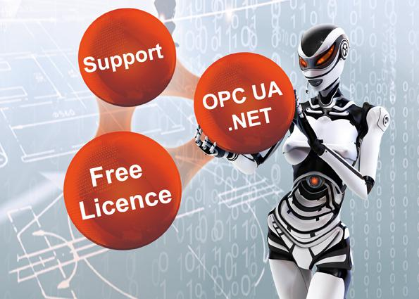 Softing's OPC UA .NET Development Toolkits allow the rapid integration of OPC UA in automation applications.