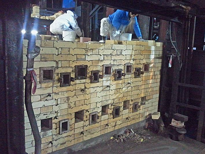 NUB bricklayers worked to individual drawings