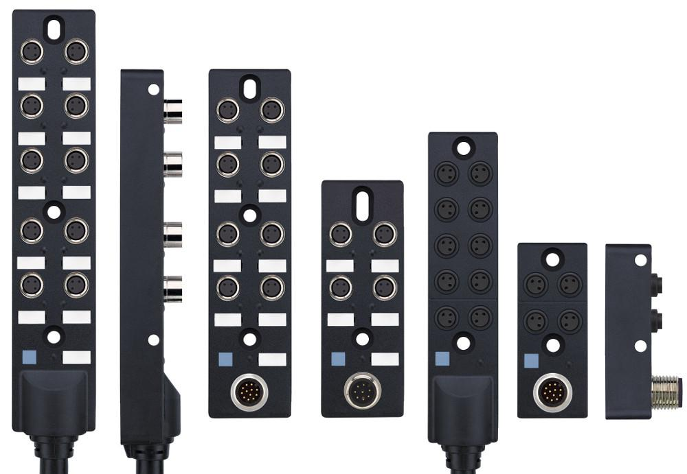 The new M8x1-passive junction boxes from ESCHA will be available in different versions.