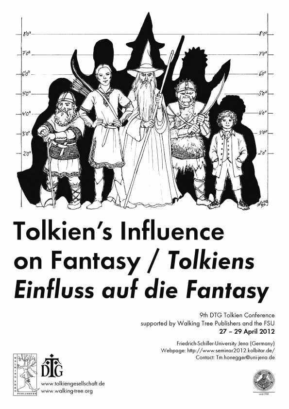 Tolkien Seminar 2012 poster by Anke Eissmann