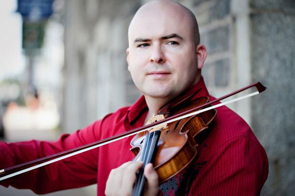 Violinist Mark Fewer