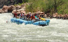 National Park Service and Grand Canyon River Guides Working