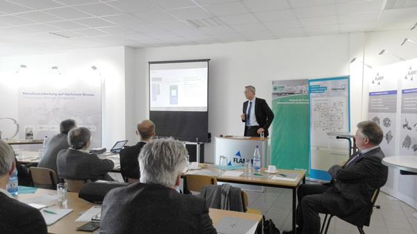 Joerg Wiedecke, product manager at Infotecs, spoke about IT security of industrial facilities and machines