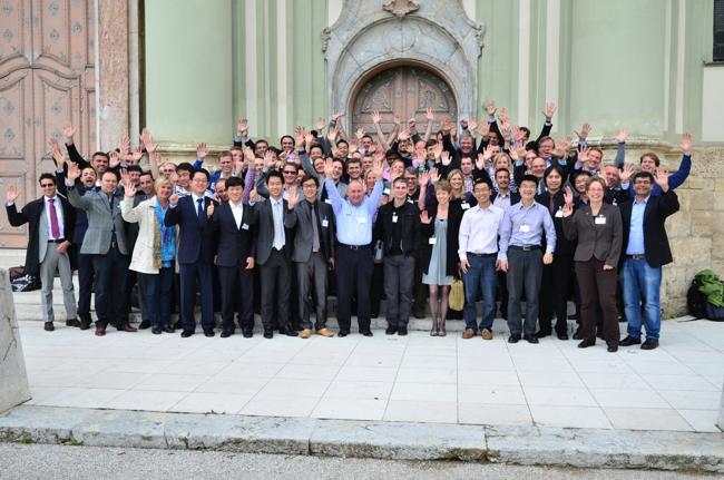 HALCON 11: About 60 sales engineers from around the world participate at MVTec's Machine Vision Training in Munich.