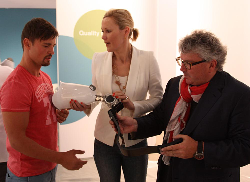 Bettina Wulff is involved in the London 2012 Paralympics