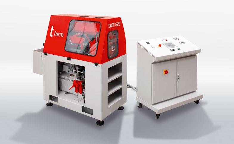 The tube forming machine t form SRM 622 by transfluid.