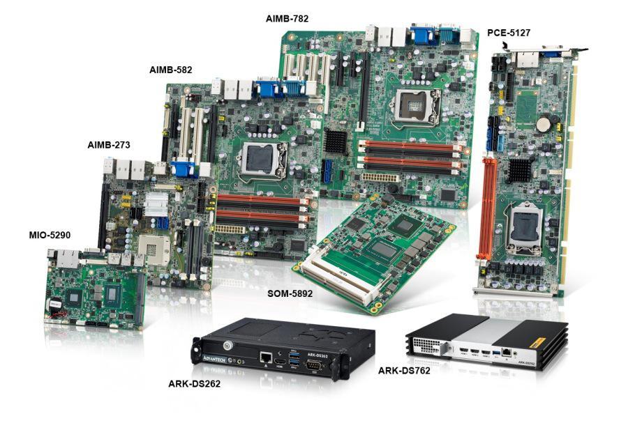 3rd Generation Intel® Core™ Processor-based Embedded Platforms