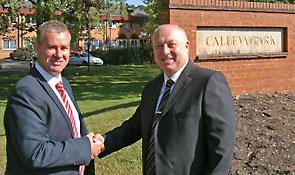 Tim Hopkinson, Senior Hargreaves CEO (left) and Gary Parslow, business development manager
