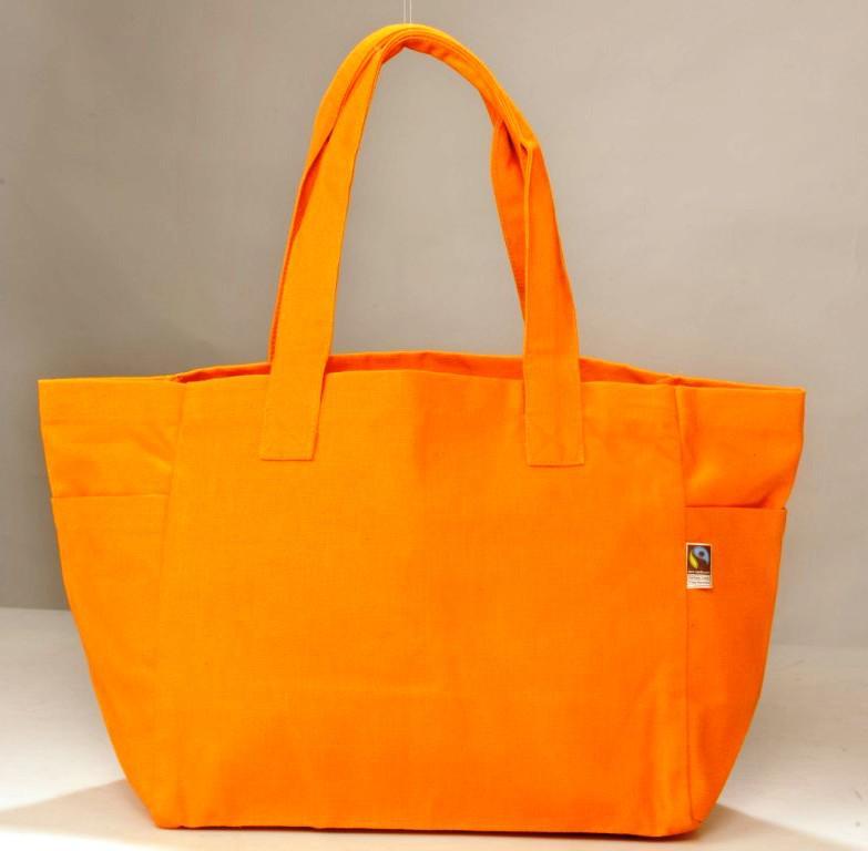 fair-trade shopping bag