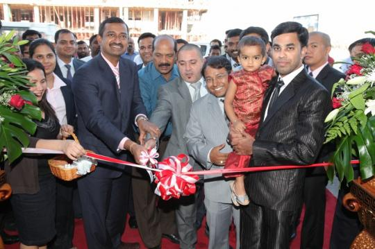 Inauguration of the opening of the new Branch
