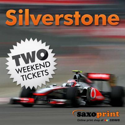 Visit Formula 1 with Saxoprint