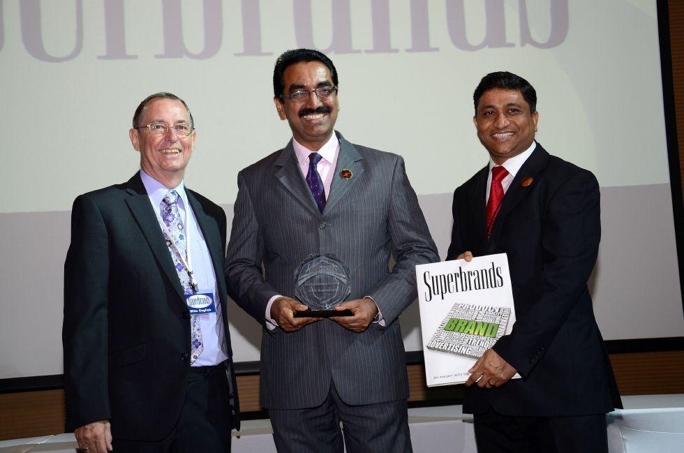 Superbrands Award Ceremony in Dubai