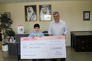 Dunkin' Donuts Raises Aed 40,000 For Children's Charity