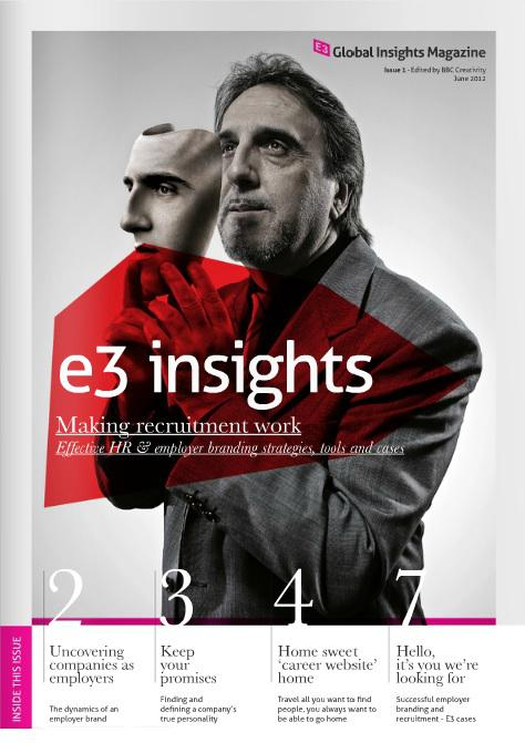 E3 Agency Network has launched a new free magazine   called Global Insights that focuses on a different   international marketing