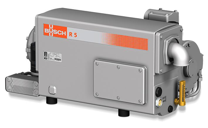 The first vacuum pump with hygienic design on the market: the rotary vane vacuum pump RAH by Busch