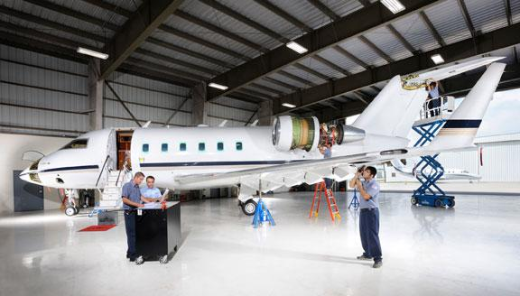 Banyan at FXE has added the Challenger to its FAA Part 145 Repair Station, EASA certification  Brazil, Argentina & Venezuela