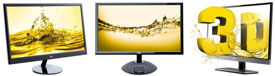 AOC offers a wide range of monitors with innovative features