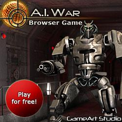 Recruitment Contest in Web Games Glory Wars and A.I. War