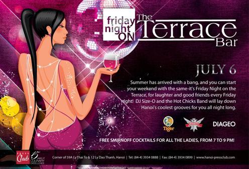 Friday Night on the Terrace Bar