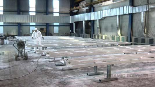 PROGUARD CN 200-LV2 can be applied directly on prepared steel substrates by airless spraying method.