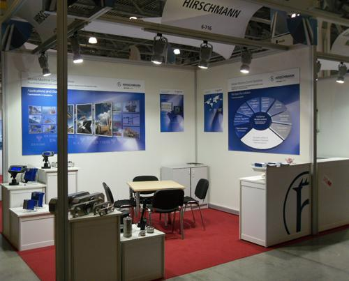 For the first time, Hirschmann MCS had its own booth at CTT.