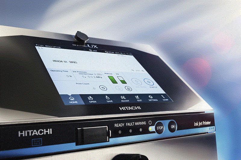 New Hitachi UX Inkjet Series
