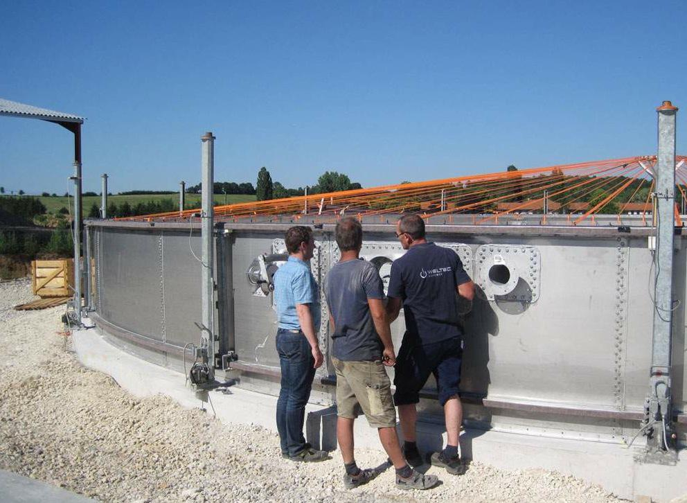 WELTEC Builds another Plant with Heat Concept in France