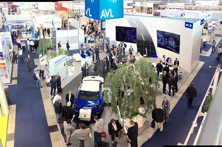 AVL booth at testing expo stuttgart 2015