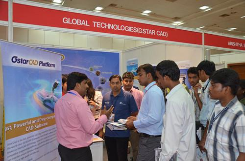 GstarCAD Attracts Much Attention at India-International Build