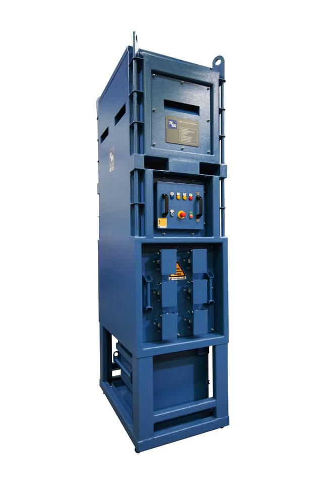 "The extraction and filter unit ""FILTERCUBe varioCube? is stable and built in a space-saving design."