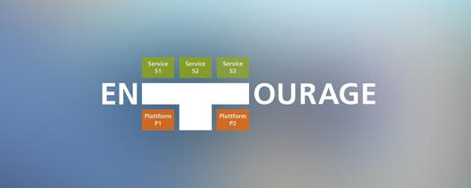 ENTOURAGE provides a hub for data and services (© Fraunhofer IAO)