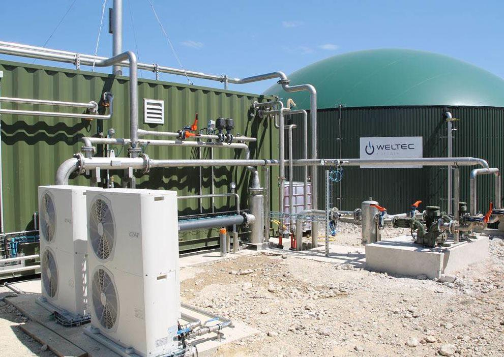WELTEC Biomethane Plant in France Launches Feed-in
