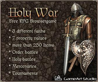 Recruitment Contest in Medieval Browser Game Holy War Reveals