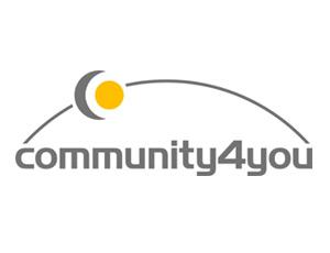 Follow us: Software producer community4you in the Social Networks