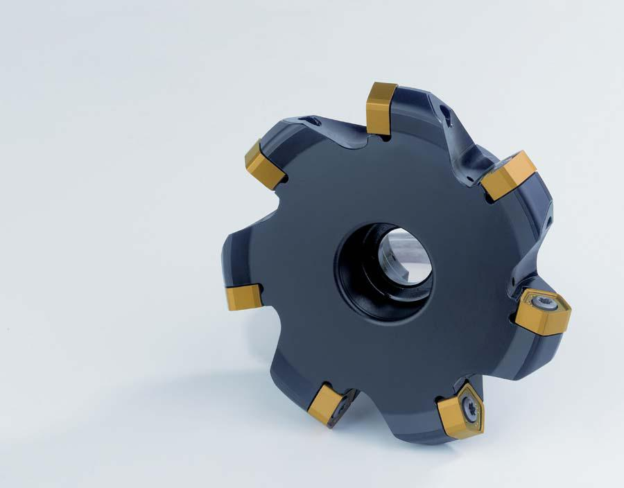 The new universally applicable face milling cutter PENTA Dual by Safety.