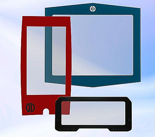 Individual custom PCAP touchscreen-design