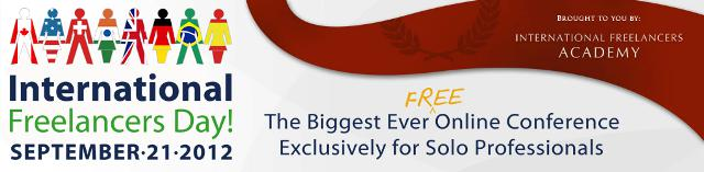 Free Online Conference for Freelancers - September 21 2012!