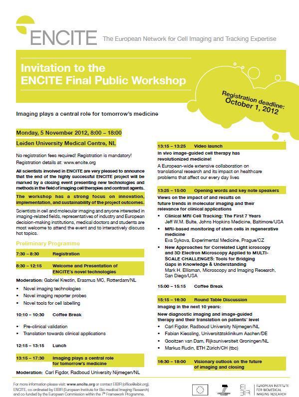 Final Workshop Programme