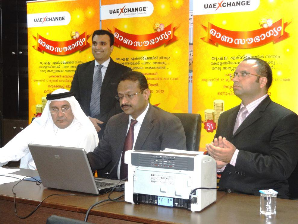 The final draw held at the UAE Country Head Office of UAE Exchange in Dubai