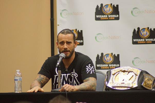 CM Punk (photo credit: Tomlin Campbell)