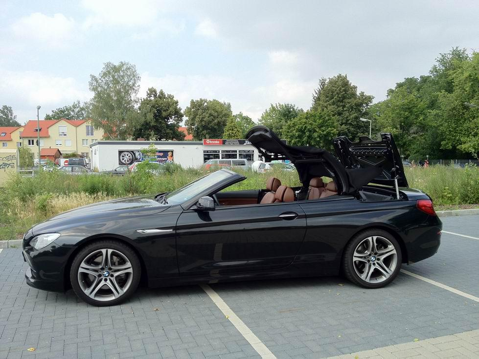 SmartTOP convertible top add-on module for the BMW 6 Series convertible type F12