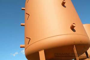Storage tank for water