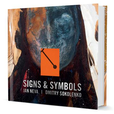 Cover of the new book Signs and Symbols from Jan Neva and Dmitry Sokolenko