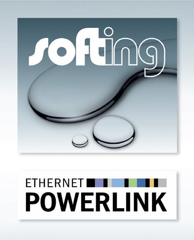 Softing joins Ethernet Powerlink Standardization