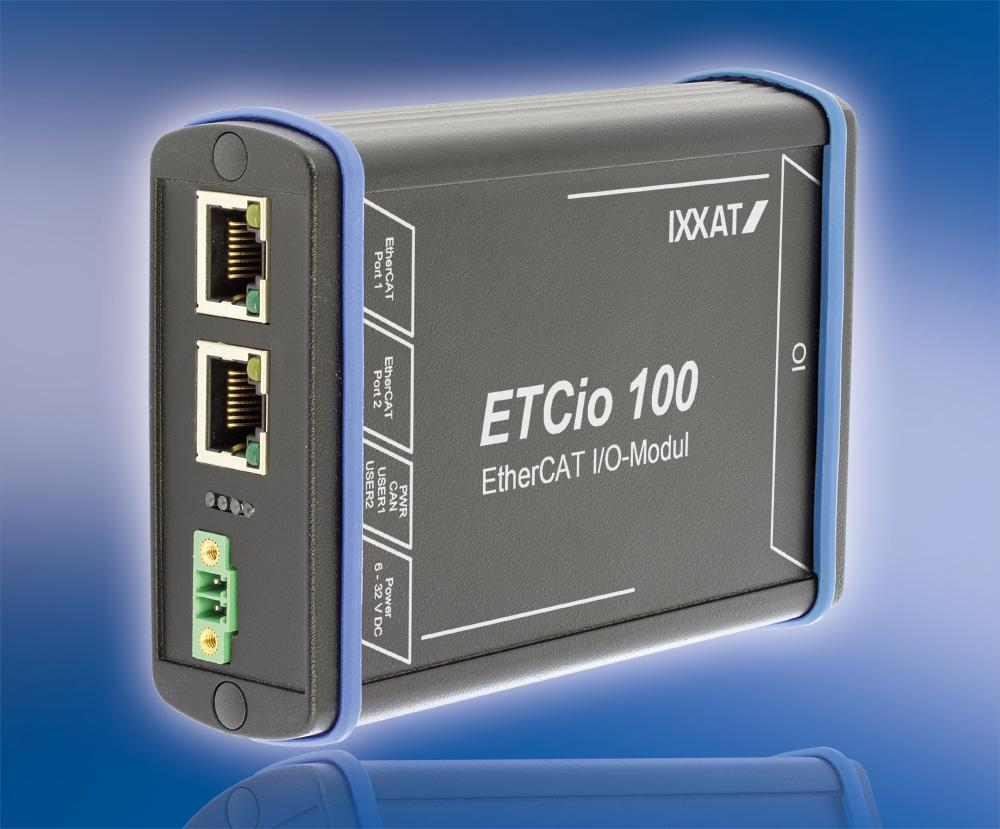 Flexible I/O Module for EtherCAT also available as board-level product